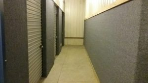 secure self storage hallway