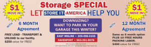 Storage Special Ad