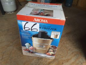 Ice cream maker | Hudson Household Online Auction