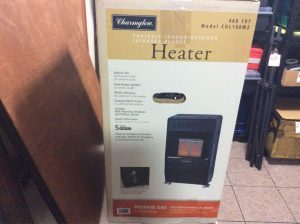 Portable indoor outdoor heater | Hudson Household Online Auction