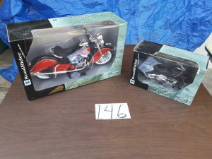 harley davidson boxed motorcycles | Hudson Household Online Auction