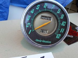 harley davidson speedometer | Hudson Household Online Auction