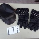 studded hat and gloves | Hudson Household Online Auction