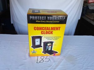 Concealment Clock | Hudson Household Online Auction
