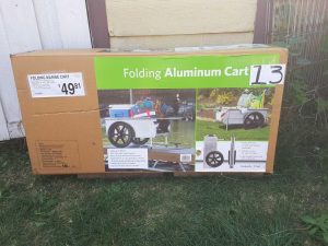 Folding Aluminum Cart | Hudson Tool, Auto, Outdoor Online Auction