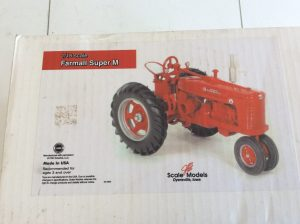 Farmall Scale Model | Des Moines Auction | Store It America