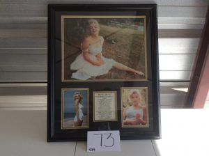 Marilyn Monroe Collectible Photos | Des Moines Auction | Store It America