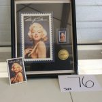 Marilyn Monroe Collectible stamp | Des Moines Auction | Store It America