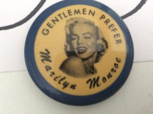 Marilyn Monroe Button | Des Moines Auction | Store It America